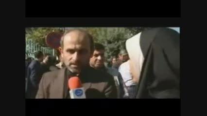 تشییع پیکر خبرنگار شبکه خبر