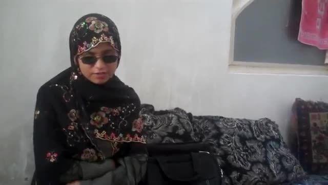 دختر نابینایی که با تمام جان و دل به دنبال علم می رود