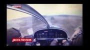 لحظه سقوط هواپیما و کشته شدن خلبان