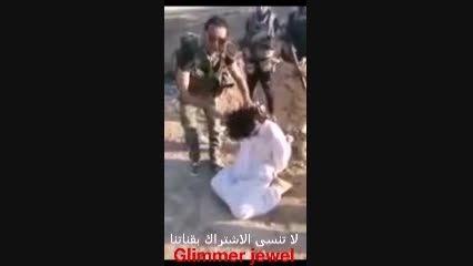 اعدام قناص افغانی داعش بدست عصاعب الحق
