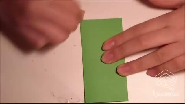آموزش ساخت اریگامی حلقه جادویی