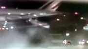 تصادف 2 هواپیما در فرودگاه