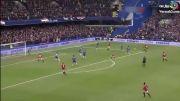 سوپر واکنش پیتر چک مقابل منچستر یونایتد