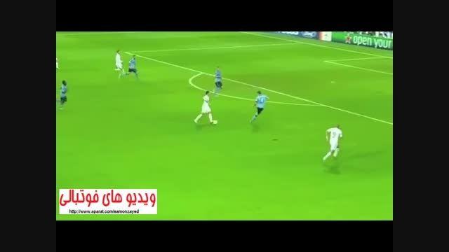 گل تیمی بی نظیر رئال مادرید به آژاکس توسط رونالدو