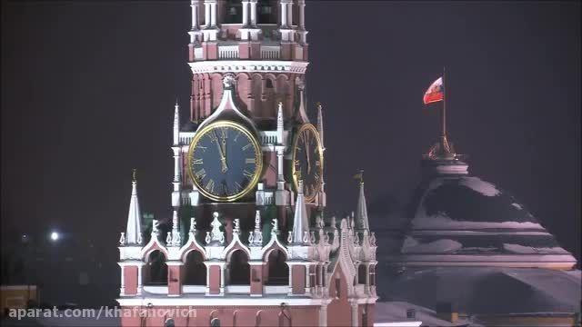 موسیقی زیبای روسی moscow night به همراه تصاویری از مسکو