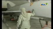 خلبان زن جنگنده اف-7 پاکستان با حجاب اسلامی