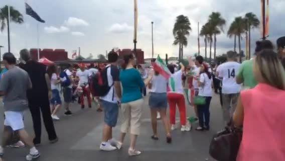 حال و هوای بریزبین در آستانه آغاز بازی ایران و امارات