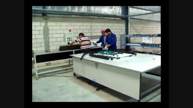 دستگاه خم هوای داغ سه متری،قابلیت خم 6 متری -heat 3000