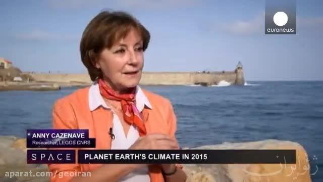 اطلاعات ماهواره ها درباره تغییرات آب و هوایی زمین