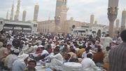 سفره های افطار در مسجد النبی