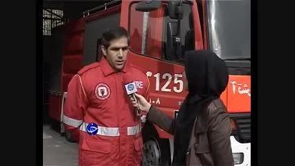 فاجعه ریزش آوار در محل نازی آباد تهران!
