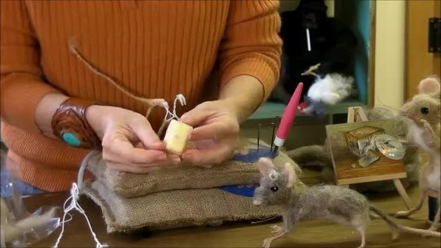 ساخت موش پشمی 3