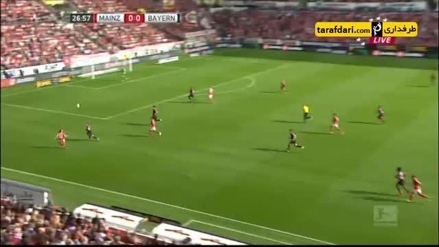 خلاصه بازی ماینس 0-3 بایرن مونیخ