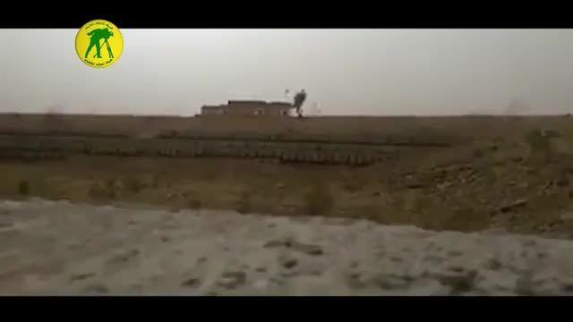 انهدام لانه تروریست های داعش از فاصله دور در نینوا