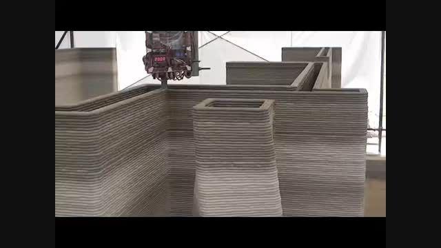 هتلی که با پرینتر سه بعدی ساخته می شود