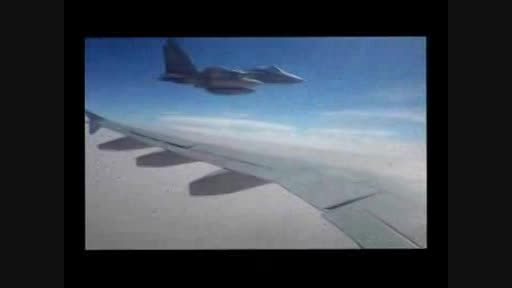 تهدید هواپیمای مسافربری ایرانی توسط جنگنده های سعودی
