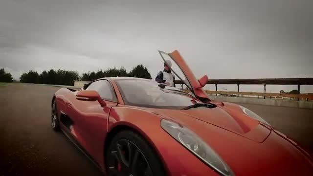 اتومبیل فوق سریع شخصیت شرور جیمز باند