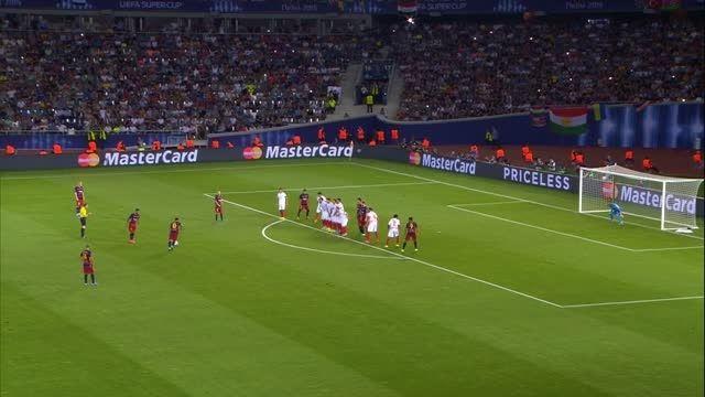 پنجمین قهرمانی بارسلونا در سوپر جام یوفا