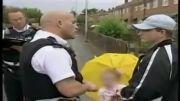 درگیری پلیس با موادفروش!!!!