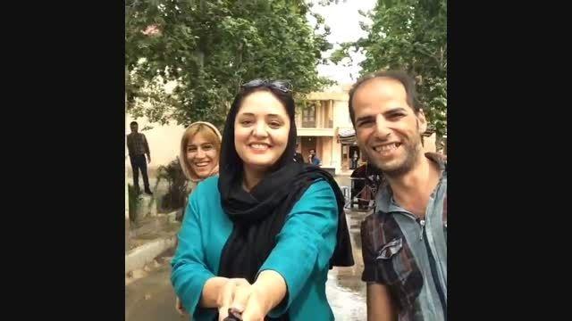 خنده و قهقهه های نرگس محمدی