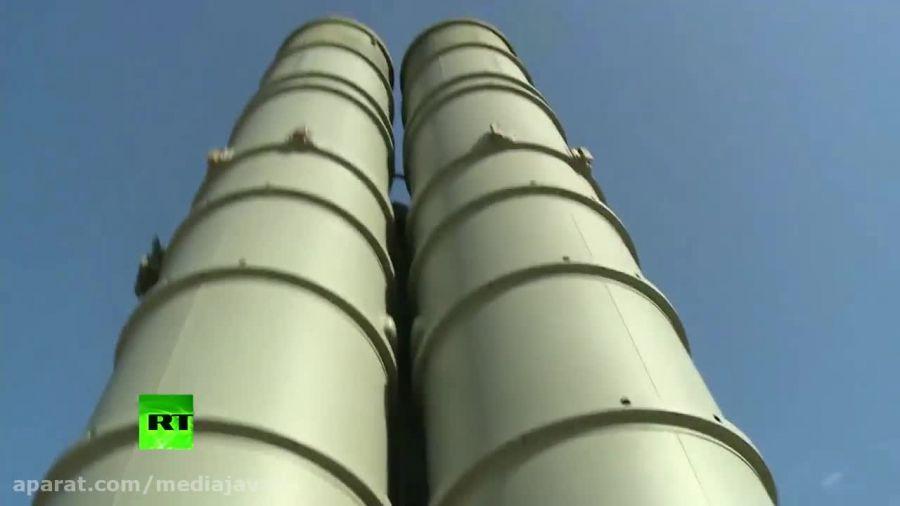 استقرار سیستم موشکی اس ۴۰۰ روسیه در سوریه