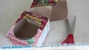 آموزش ساخت دستشویی برای خانه عروسک - آموزش دخترانه