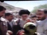 دیدار رهبر معظم از مناطق زلزله زده آذربایجان