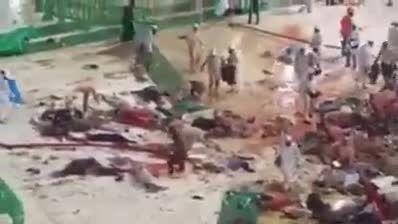 ده ها کشته و زخمی در حادثه سقوط جرثقیل در مسجدالحرام