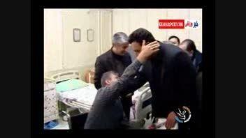 دیدار قهرمانان ورزش با قهرمانان تاریخ ایران