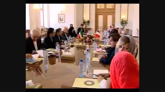 دیدارهای فابیوس، وزیر خارجه فرانسه با حسن روحانی