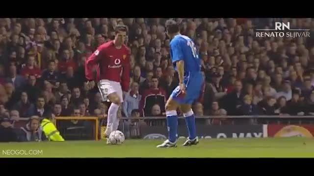 داستان فوتبالی کریستیانو رونالدو