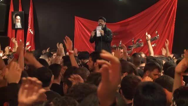 شب هفتم-پریدند و گشتند و شمشیر باهم-حاج محمود کریمی