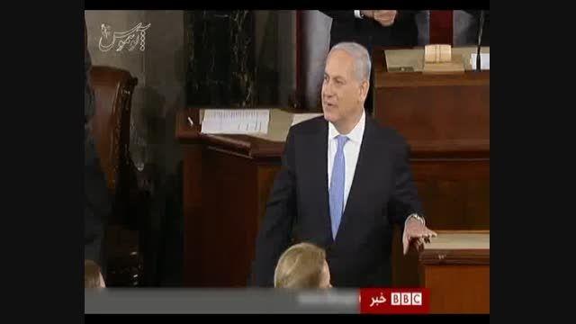 گزارش بی بی سی از سفر بدون دعوت نتانیاهو به آمریکا