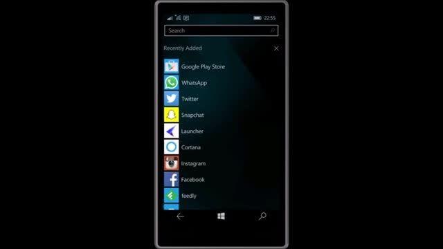 اجرا برنامه پورت شده اندروید برای ویندوز 10 موبایل