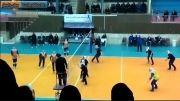 لیگ برتر والیبال بانوان میزان خراسان - گاز تهران