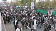 در حاشیه تجمع فرماندهان بسیج سراسر کشور در مصلای تهران