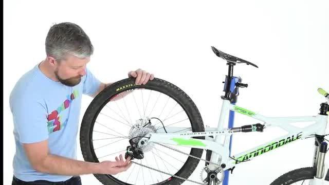 چگونه شارژمان عقب را تنظیم کنیم (دوچرخه کوهستان)