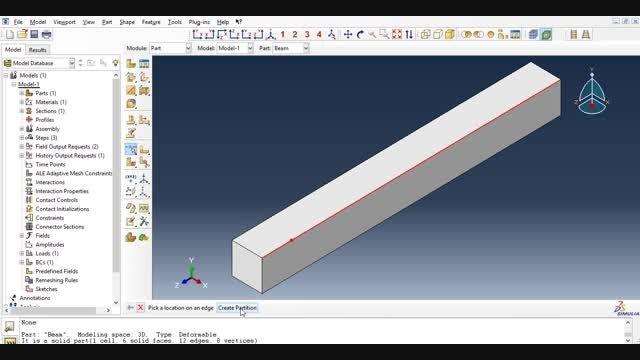 فیلم 7: نحوه ایجاد پارتیشن روی یک لبه (Partition Edge)