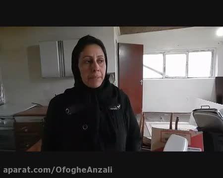 مادر بی خانمان از فرزندان معلولش می گوید