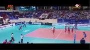برد ست تیم ملی والیبال از روسیه قهرمان المپیک در لیگ جهانی