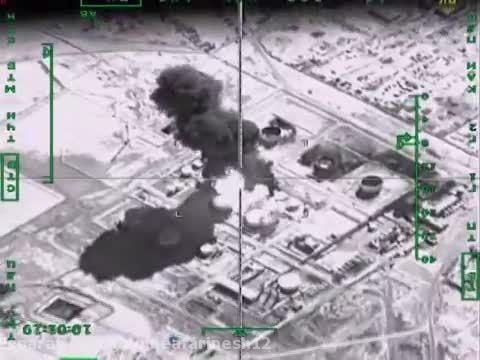 بمباران داعش توسط روسیه