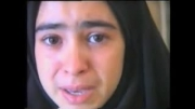 فیلم اشك های دختر دانش آموز بر مظلومیت شهدا