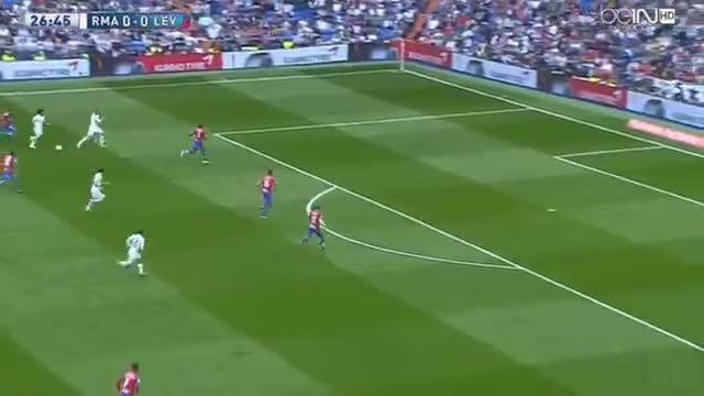 رئال مادرید 3 - 0 لوانته / پیروزی در لالیگا