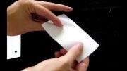 درست کردن سوت با کاغذ