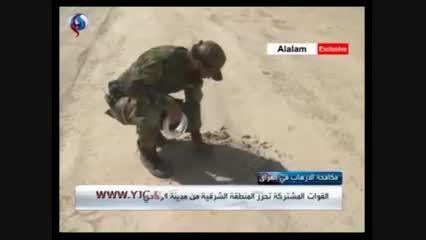انفجار مخفیگاه های داعش