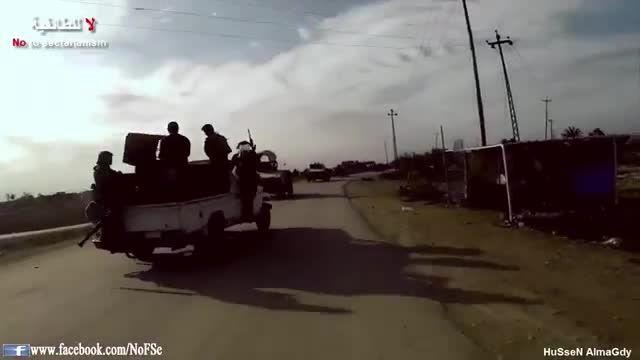 نفوذ به قلب الانبار توسط ارتش و نیروهای بسیج مردمی عراق