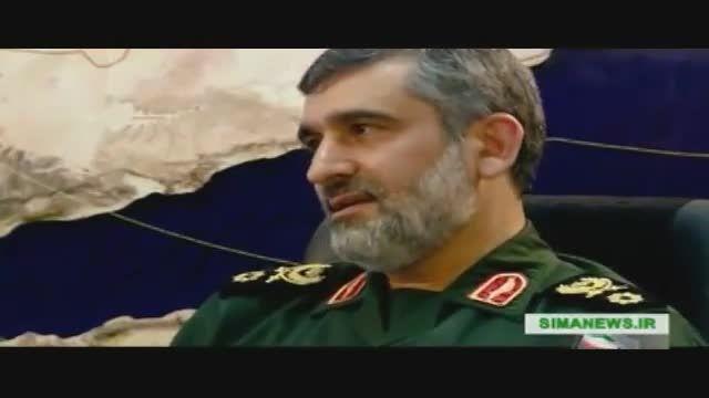 توضیحات فرمانده هوافضای سپاه درباره RQ170 ایرانی
