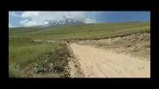 کله ملق دوچرخه سوار در کوهپایه دماوند