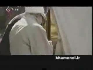 بازدید مخفیانه و تاریخی آیت الله خامنه ای از حادثه بم