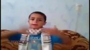 پیام کودک فلسطینی به اعراب لحظاتی قبل از شهادت